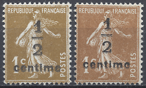 FRANCE-TIMBRE-TYPE-SEMEUSE-N-279A-N-279B-NEUF-LUXE-MNH