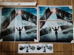 Alerte Resident Evil Skin Pour Ps4 Original Console Plus Controller Skins X2-afficher Le Titre D'origine Excellente Qualité