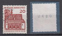BRD 1964 Mi. Nr. 456 R Gestempelt Rollmarke mit Nr. TOP!!! (20125)