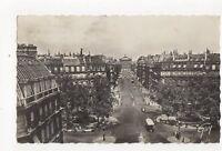 Paris Avenue de l'Opera 1946 France Vintage RP Postcard 230a