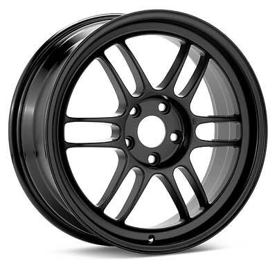 "ENKEI RPF1 18x9.5"" Racing Wheel Wheels 5x114.3 ET15 BLACK"