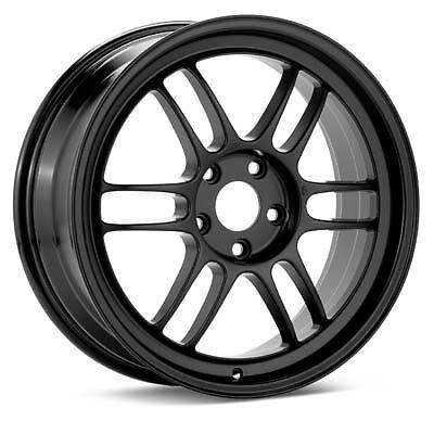 "ENKEI RPF1 18x9.5"" Racing Wheel Wheels 5x114.3 ET15 BLACK"