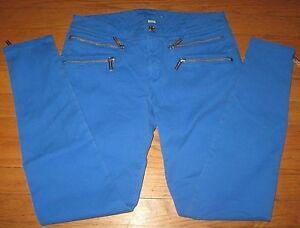 1e90798403e7 MK Michael Kors Women's Jeans Skinny Pants stretch Zip Leg Bright ...