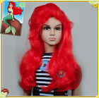 Ariel The Little Mermaid Children Kids Halloween Wig fits from toddlers to teans