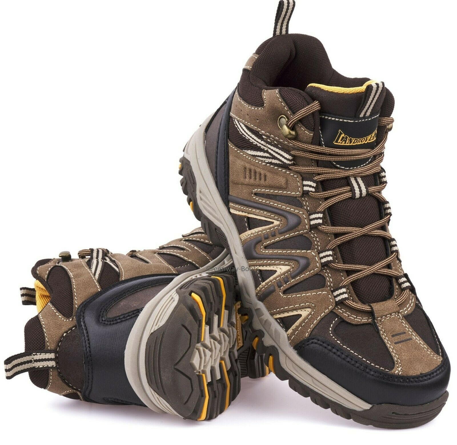 55ae6d4aabd MENS HIKING WATER RESISTANT WALKING ANKLE TRAIL TREKKING TRAINERS SHOES  BOOTS SZ
