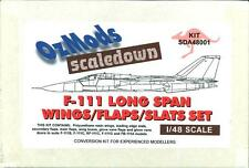 OzMods 1/48 F-111 LONG SPAN WINGS FLAPS & SLATS Resin Upgrade Set