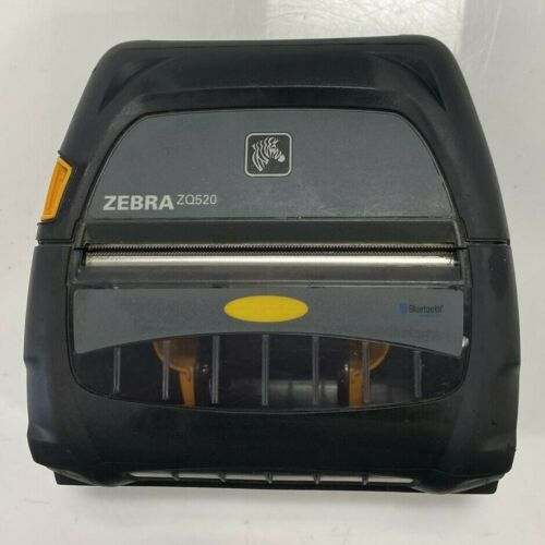Zebra ZQ520 Mobile Thermal Label Receipt Printers *** UNTESTED OR FOR SPARES ***