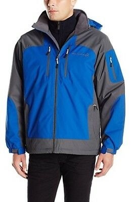Free Country Men S Ripstop Mid Weight Hooded Jacket Coat