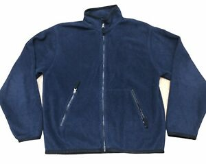 Gap-Fleece-Jacket-Women-s-Size-XS-Navy-Blue-Fleece-Zip-Up-Jacket-with-Pockets