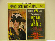 SPECTACULAR SOUND - VOLUMEN 6 - POPULAR DE LAS AMERICAS LP RARE - FREE SHIPPING!