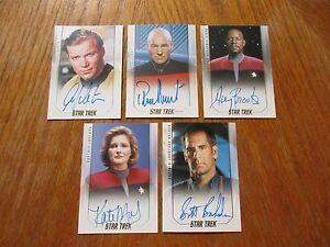 2017-Star-Trek-50th-Anniversary-Trading-Cards-FULL-MASTER-SET-with-Binder-NEW