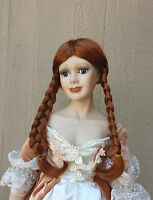 Doll Wig - W287 Luxurious Long Braids - Size 10(head): Choice Of Color.