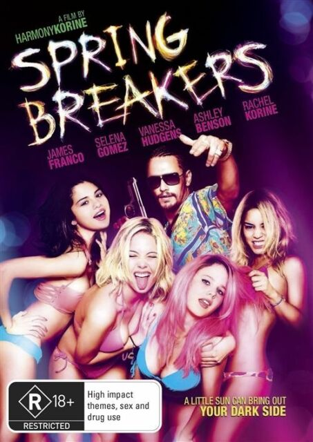 Spring Breakers (DVD, 2013)
