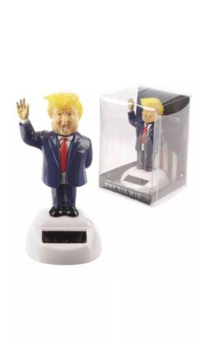 Dancing Presidente Trump energia solare giocattolo Dash Divertenti Novità Regalo