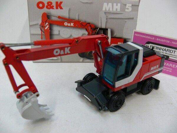 1 50 NZG o & K K K MH 5 Escavatore ROSSO 457 59466b