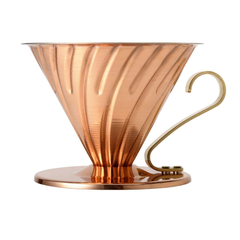 NOUVEAU  Hario V60 Cuivre Coffee Dripper VDP-02CP pour 1  4 tasses JAPAN IMPORT