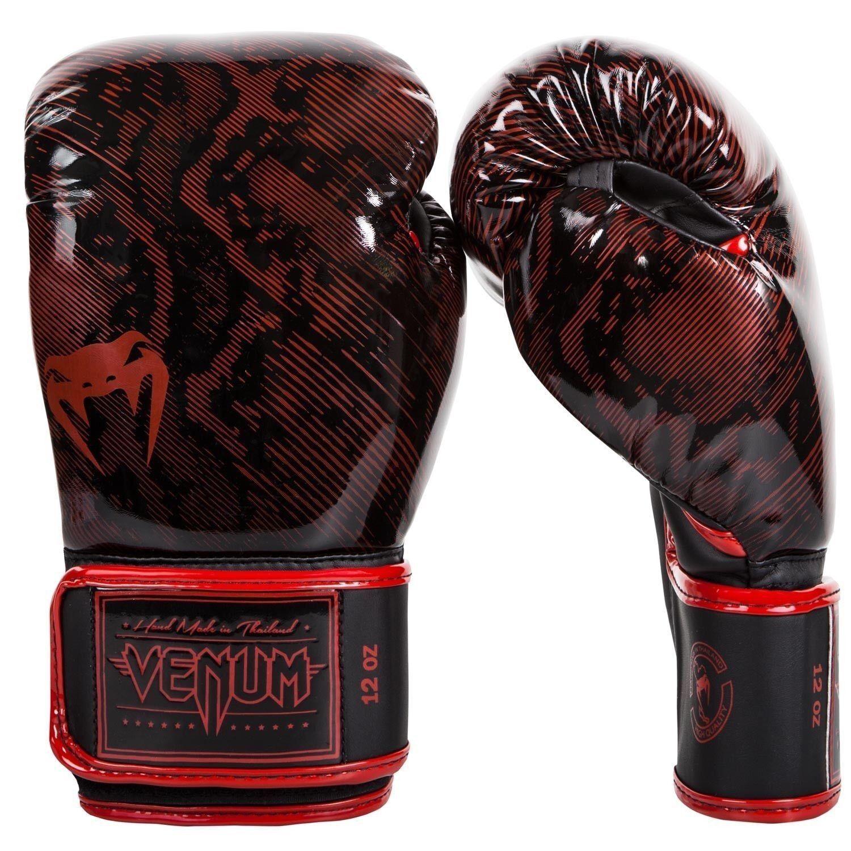 Venum Fusion Guantoni Da Boxe Rosso MMA Sparring Muay Thai Guanti 10oz