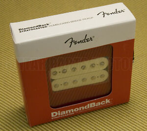 099-2219-105 Genuine Fender DiamondBack Humbucker Pickup Aged White Fat Strat