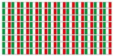 Kfz-Aufkleber Flagge Italien Set RJ
