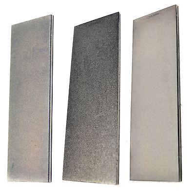 "3pz Professionale Affilatura Diamond Stone 6 ""extra Sottile / Alto / Basso-"
