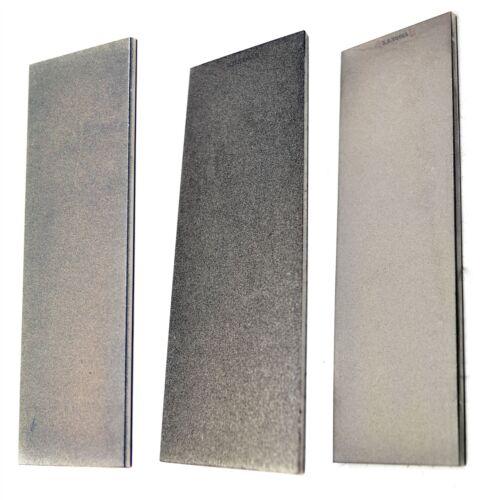 3pc Professional Diamond Sharpening Stone 6 Extra Fine / Fine / Coarse