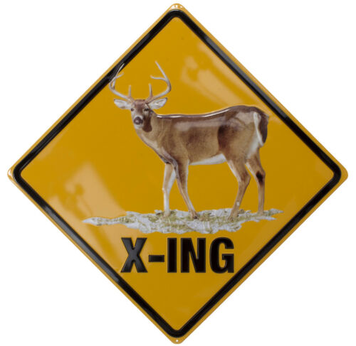 Ande Rooney White-Tailed Deer X-Ing Sign # 2060071
