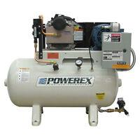 Powerex Sts 3-hp 30-gallon Oil-less Open Scroll Air Compressor (208/230v 1-ph...