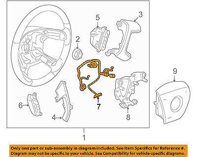 gm oem steering wheel-harness 25776048