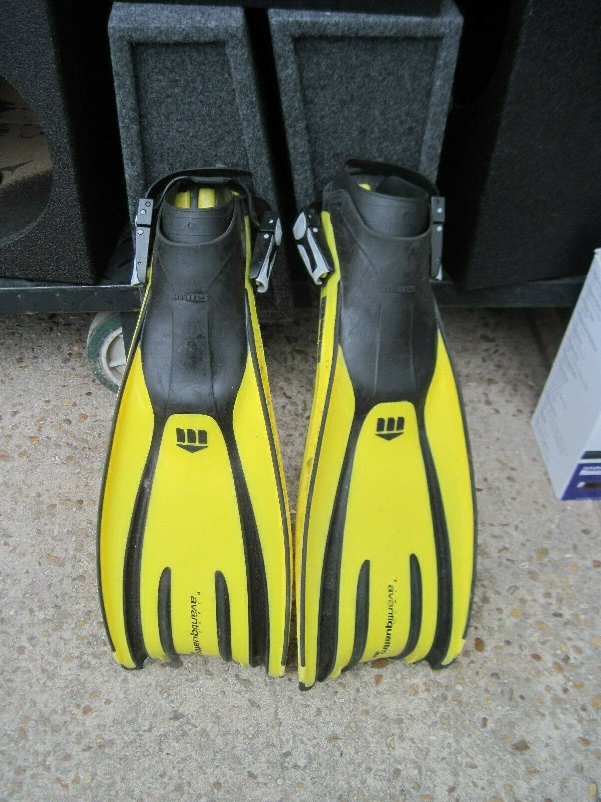 MARES PLANA AVANTIQUATTRO ABS  FINS    MADE IN ITALY   REGULAR  no hesitation!buy now!