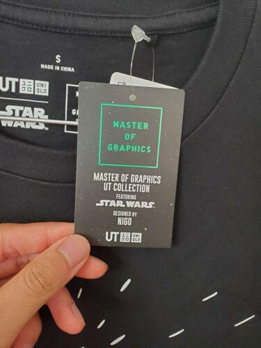 US SELLER Uniqlo x Star Wars 2019 T-Shirt Master of Graphics UT NIGO Black