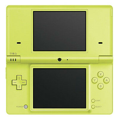 Nintendo DS Lite Green Handheld System Very Good Condition