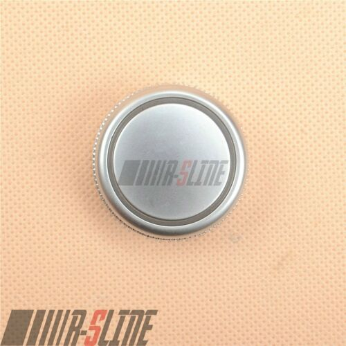 Front Central console multimedia Knob Cover Chrome Cap For AUDI A6 S6 C7 A7 RS7