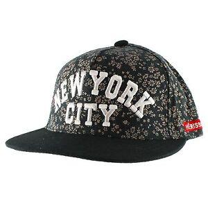 cbb936578e8 Details about Floral NYC Snapback Hip-hop New Era Trucker Flat Bill Baseball  Cap Men Women