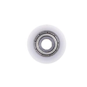 Neue 4 * 15 * 6mm U Nut Metall Schild Nylon Riemenscheiben Rollenlager  YEG
