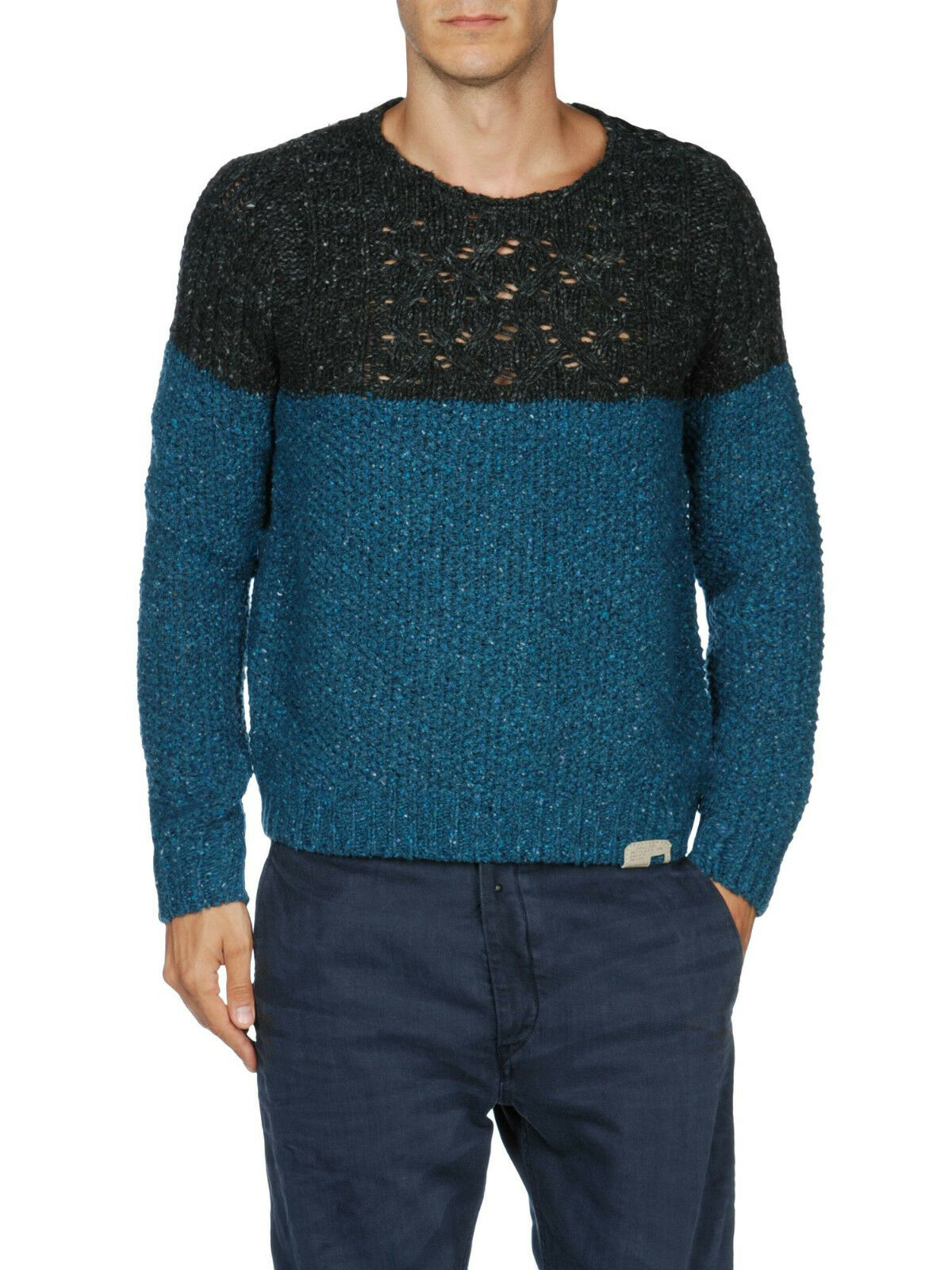 DIESEL K-INDIANO WOOL BLEND JUMPER SIZE M 100% AUTHENTIC