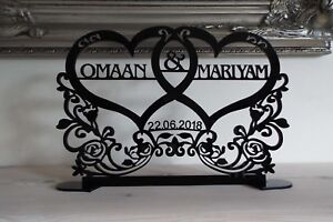 Personalised-Wedding-Sign-Top-Table-Decoration-2-Names-and-Date-Freestanding