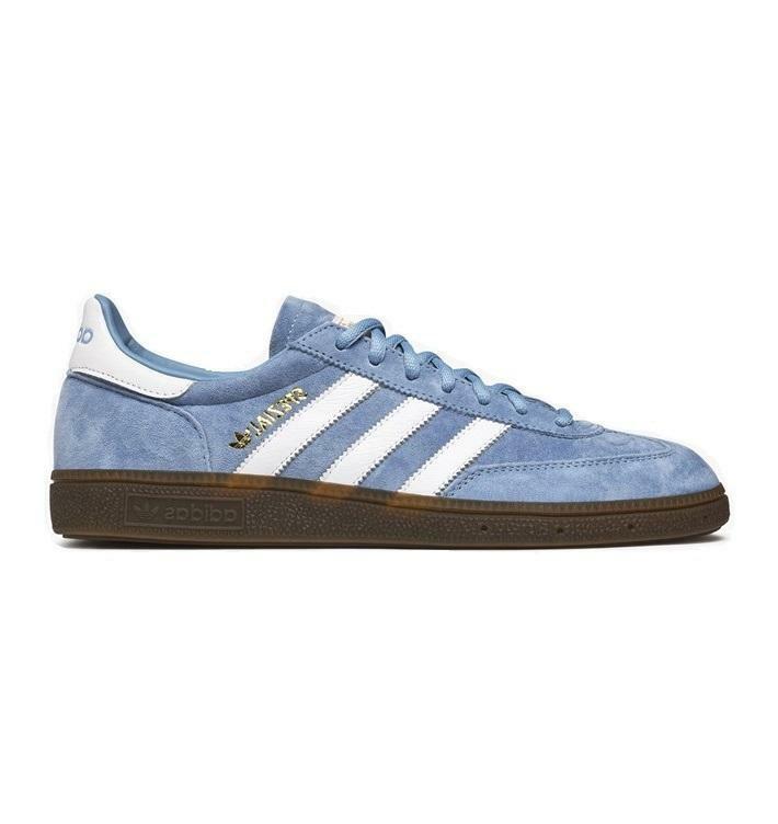 Hombre Adidas balonmano, zapatos azules, d96794.