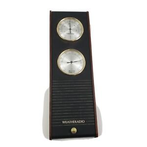 Realistic-Weather-Station-Radio-Model-12-150-Vintage-Temperature-Humidity-ISSUE
