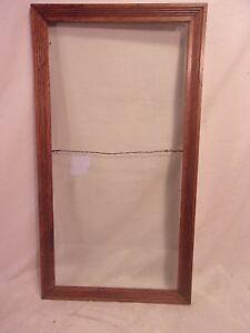 "Decorative Arts Antique Oak Mission Style Frame16 1/2 X 30 1/2 Holds 14x28 Molding 1 1/2"" Big Clearance Sale Picture Frames"