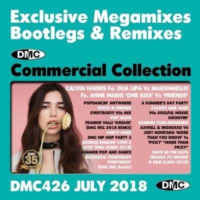 DMC Commercial Collection 426 Double DJ Music Mix CD Ft Tiesto & Friends  Megamix