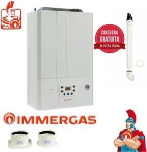 Caldaia IMMERGAS a condensazione A METANO VICTRIX TERA 24 Kw con Kit Fumi Incl.