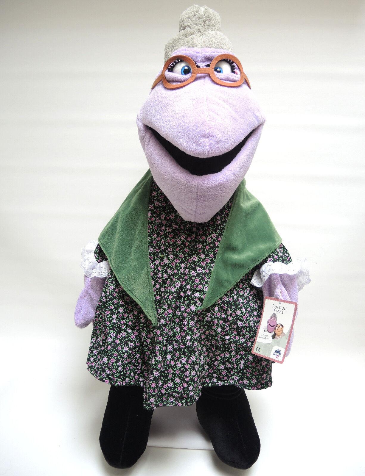Wiwaldi & Co Living Puppets Handpuppe für Erwachsene Omi Flönz  ca. 72 cm NEU