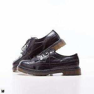 on sale 4de09 3dede Dettagli su scarpe UOMO francesine parigine stringate oxford derby eco  pelle frange Z622-1
