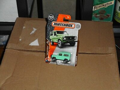 MATCHBOX LAND ROVER 90 IN GREEN COLOR NICE!!!