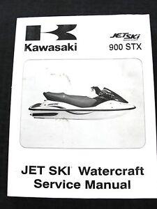 original 2003 kawasaki 900stx 900 stx jet ski watercraft service rh ebay co uk 1998 kawasaki 900 stx service manual kawasaki 900 stx owners manual