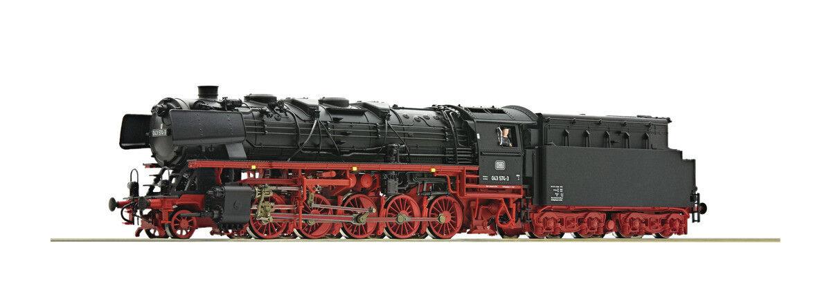 Roco 72238, vapor locomotora BR 043, DB, nueva y original caja de aceite, H0