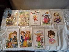 Lot de cartes postales Bonne fête vintage
