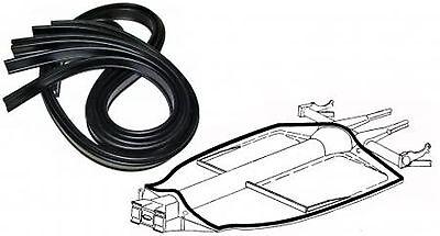 VW ESCARABAJO TYPE3 Karmann Cubo Karmann chassisdichtung JUNTA 0700