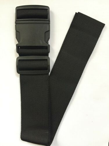 Wholesale Job Lot New 100 x Black Adjustable Strong Extra Safety Luggage Straps