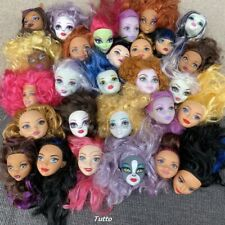 Random 3 Monster High School Doll Multi Head For Replacement OOAK Girl Toy gifts